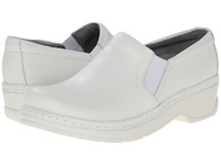 Klogs Usa Naples White Leather Women's Clog Shoes