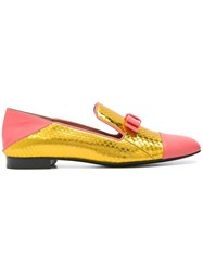 Bally 'Nyexpo' Slippers Pink Purple