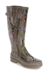 Women's Sakroots 'Rhythm' Waterproof Rain Boot Sterling Spirit Desert