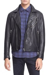Men's Levi's Made And Crafted 'Offroad' Leather Moto Jacket