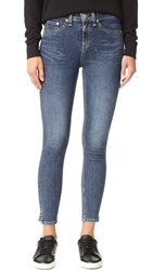 Rag And Bone 10 Inch Capri Jeans Worn