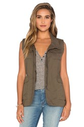 Bishop Young Rozlyn Cargo Vest Olive
