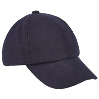 John Lewis And Co. 6 Panel Denim Cap Blue