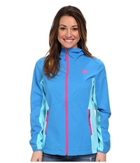 The North Face Nimble Hoodie Clear Lake Blue Fortuna Blue Women's Coat