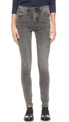 Earnest Sewn Blake High Rise Skinny Jeans X Pro Grey