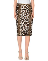 Burberry Prorsum Skirts Knee Length Skirts Women Cocoa