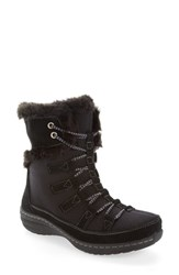 Aetrex Women's Waterproof Faux Fur Trim Boot