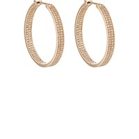 Repossi Women's Berbere Classic Medium Hoop Earrings Pink
