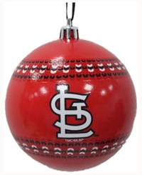 Memory Company St. Louis Cardinals Ugly Sweater Ball Ornament Red