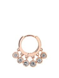 Jacquie Aiche Diamond And Rose Gold Earring Rose Gold