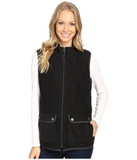 Royal Robbins Foxtail Fleece Vest Jet Black Women's Vest