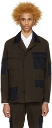 Marc Jacobs Green And Navy Army Jacket