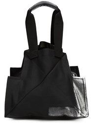 Issey Miyake Small Structured Tote Black