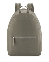 Maison Martin Margiela Zip Top Leather Backpack Olive Green Grey Maison Margiela