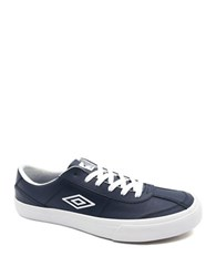 Umbro By Kim Jones Heritage Brooklyn Leather Sneakers Navy White