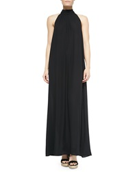 Lenny Niemeyer Turtleneck Tie Back Coverup Maxi Dress