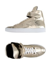 George J. Love High Tops And Trainers Platinum