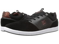 Dc Cole Signature Black Red White Men's Skate Shoes