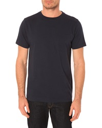 Menlook Label Allan Navy T Shirt