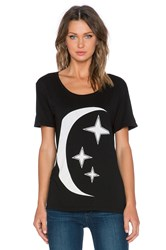 Mate The Label Summer Moon Tee Black