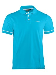 Chervo Audrey Plain Regular Fit Polo Shirt Blue