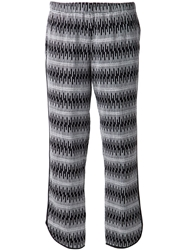 Thakoon Addition Jacquard Cropped Trousers