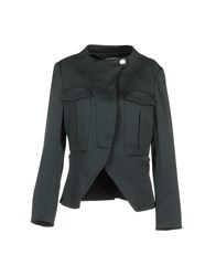 Uniqueness Suits And Jackets Blazers Women Deep Jade