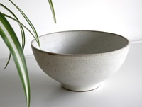 White Coated Bowl By Keiichi Tanaka Oen Shop