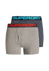 Superdry Sport Plain Boxer Grey