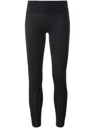 Y 3 Cropped Leggings Black