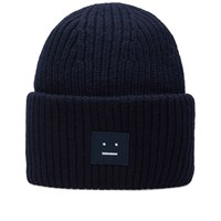 Acne Studios Pansy Wool Beanie Blue