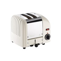 Dualit Classic Toaster Canvas White 2 Slot