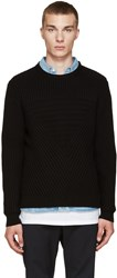 Public School Black Moving Triangle Sweater