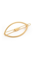 Mrs. President And Co. Eye Opener Barrette Matte Gold