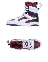 Puma By Miharayasuhiro High Tops And Trainers Maroon