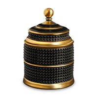 L'objet Bibliotheque Candle Black And Gold