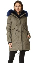 Sam. Luxe Limelight Parka Army Blue