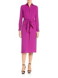 Ralph Lauren Alaina Silk Shirtdress