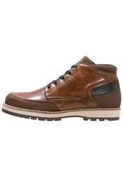 Lumberjack Aveiro Laceup Boots Cotto Light Brown