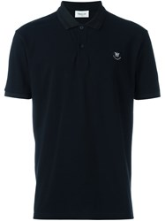 Wood Wood 'Brian' Polo Shirt Blue