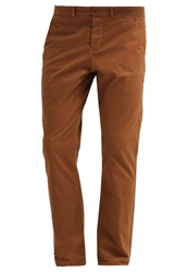 Pier One Chinos Regular Slim Garment Dyed Camel