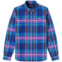 Fred Perry Bright Tartan Shirt Multi