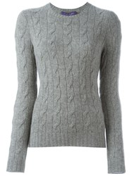 Ralph Lauren Black Label Ralph Lauren Black Crew Neck Jumper Grey
