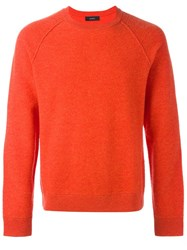 Joseph 'Axlan' Pullover Yellow And Orange