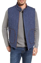 Tommy Bahama Men's Reversible Tweed Wool Vest