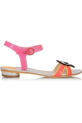 Sophia Webster Wifey For Lifey Vinyl And Patent Leather Sandals