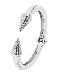 Robert Rose Pointed Arrow Bangle Silver