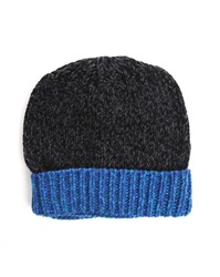 Paul Smith Accessory Black Cable Knit Beanie