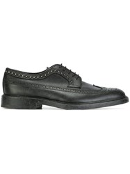 Henderson Baracco Studded Derby Shoes Black