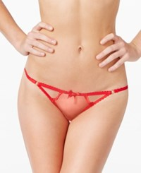Agent Provocateur L'agent By Mariona Cutout Brief L085 33 Valentino Red